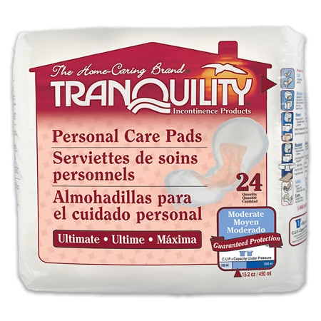 Tranquility Personal Care Pads Ultimate