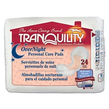 Tranquility Ovenight Personal Care Pads Overnight