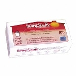 Tranquility Powder-Free Vinyl Exam Gloves Medium