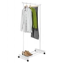 White Garment Rack