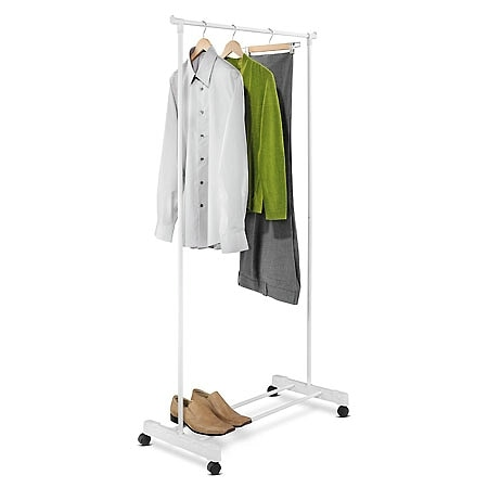 Honey Can Do White Garment Rack