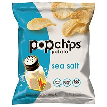 Popchips Popped Chip Snacks Original Potato