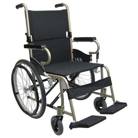 Karman Ultra-Lightweight 18 inch Aluminum Wheelchair, 25lbs Champagne