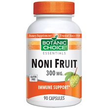 Botanic Choice Noni Fruit 300 mg Dietary Supplement Capsules