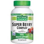 Botanic Choice Super Berry Complex Dietary Supplement Capsules