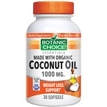 wag-Organic Coconut Oil 1000 mg Herbal Supplement Softgels