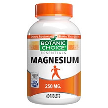 Magnesium Oxide 250 mg Dietary Supplement Tablets