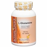 L-Glutamine 500 mg Dietary Supplement Tablets