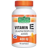 Vitamin E 400 IU Dietary Supplement Softgels