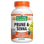 Botanic Choice Prune & Senna Dietary Supplement Softgels