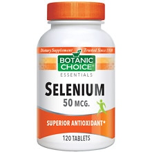 Selenium 50 mcg Dietary Supplement Tablets