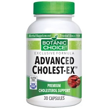 Advanced Cholest-Ex Herbal Supplement Capsules
