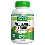 Botanic Choice Vegetable & Fruit 750 mg Dietary Supplement Tablets