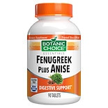 Botanic Choice Fenugreek and Anise Herbal Supplement Tablets