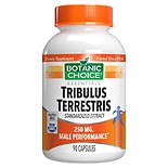Botanic Choice Tribulus Terrestris 250 mg Herbal Supplement Capsules