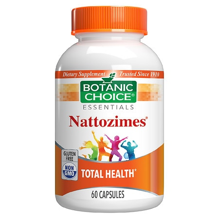 Botanic Choice Nattozimes Dietary Supplement Capsules