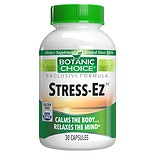 Stress-Ez Herbal Supplement Capsules