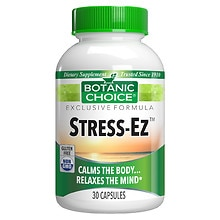 Botanic Choice Stress-Ez Herbal Supplement Capsules