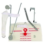 Mabis Healthcare Deluxe Overdoor Traction Set