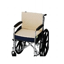 "Nova 3in. Convoluted Seat and Back Foam Cushion with Fleece Cover for 18""x16"" Wheelchair"