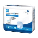 Medline Protection Plus Classic Protective Underwear Large
