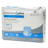 Medline Protection Plus Classic Protective Underwear Medium