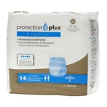 Medline Protection Plus Classic Protective Underwear Extra Large