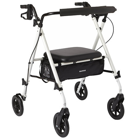 Medline Deluxe Extra-Wide Heavy Duty Rollator