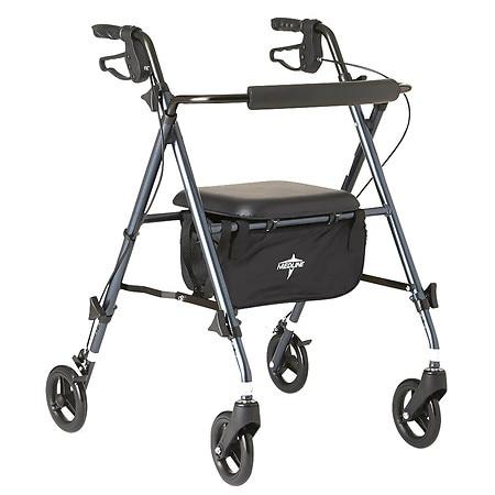 Medline Guardian Freedom Ultralight Rollator Smokey Blue