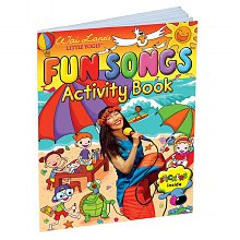 Little Yogis Fun Songs Activity Book