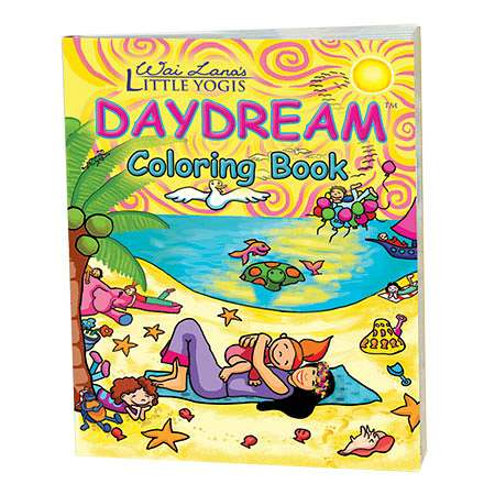 Wai Lana Little Yogis Daydream Coloring Book