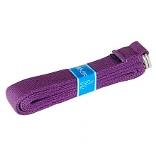Yoga Strap, 8-foot Purple