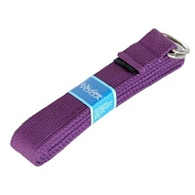 Yoga Strap, 6-foot Purple