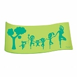 Wai Lana Green Little Yogis Eco Mat