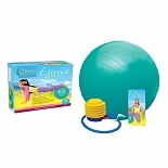 wag-Eco Exercise Ball Kit with Poster