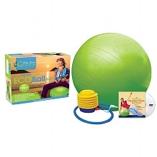 Wai Lana Pilates Yoga Eco Ball Kit with DVD Medium