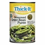 Seasoned Puree Green Bean,12 oz Cans
