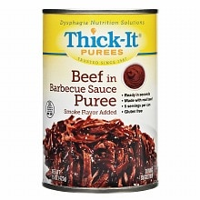 Thick-It Beef in Barbecue Sauce Puree 15 oz Cans