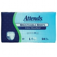 Attends Extra Absorbent Breathable Briefs Large