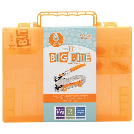 We R Memory Keepers Big Bite Crop-A-Dile II Carrying Case