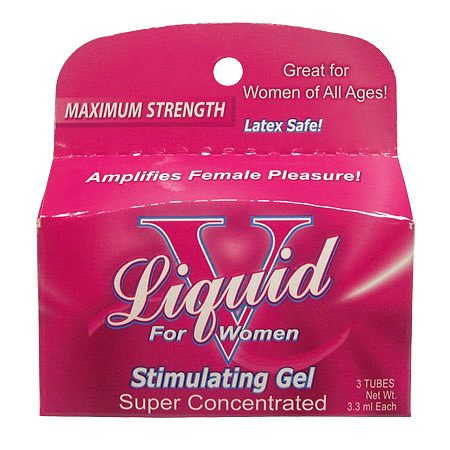 Body Action Liquid V For Women, Tubes