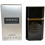 Azzaro Silver Black Eau De Toilette Spray 3.4 oz