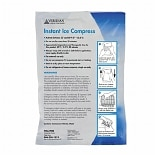 Veridian Healthcare Instant Ice Compress, 6-inch x 9-inch, Case of 24