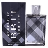 Burberry Brit Mens Eau De Toilette Spray 3.4 oz