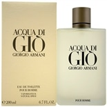 Acqua Di Gio Eau De Toilette Spray 6.7 oz