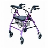 Walkabout Lite 4 Wheel RollatorPink