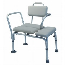Lumex Deluxe Padded Transfer Bench