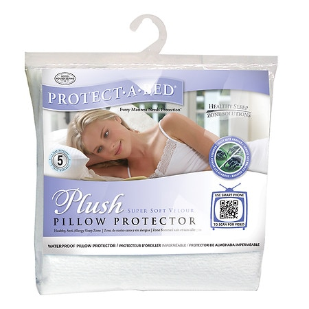 Protect-A-Bed Plush Standard Pillow Protector