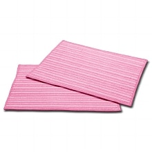 Haan Set of 2 Ultra-Microfiber Replacement Pads for SI-35, MS-30, SV-60 Pink