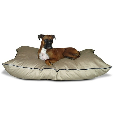 Majestic Pet Products Super Value Pet Bed 28x35 inch Khaki